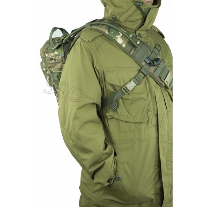 Тактический однолямочный рюкзак SSO РЫСЬ Цифра флора (фото 3)