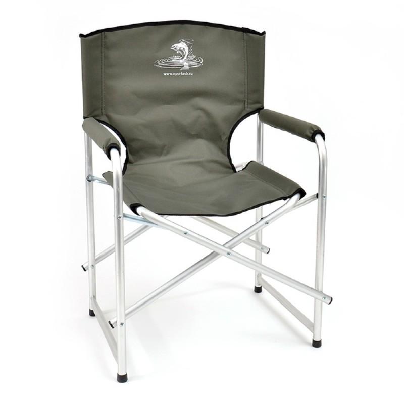 Кресло складное КЕДР AKS-03 (алюминий, хаки)