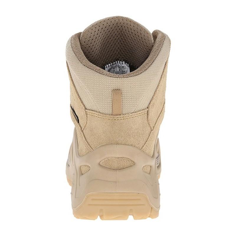 Женские тактические ботинки Lowa ZEPHYR GTX MID TF WS Dark brown (фото 3)