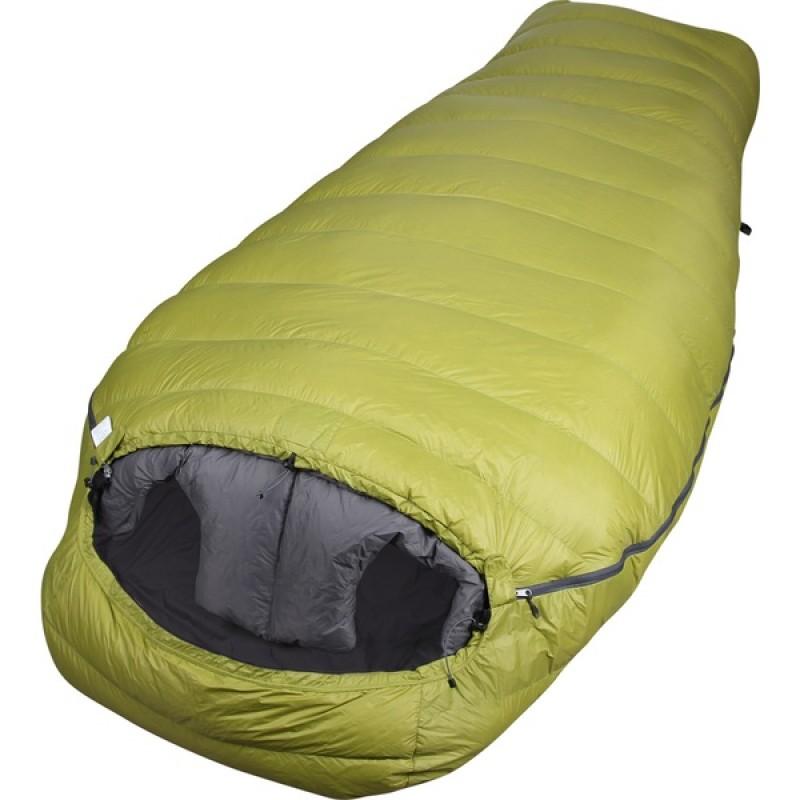 Спальный мешок СПЛАВ Tandem Light (зеленый, пуховый)