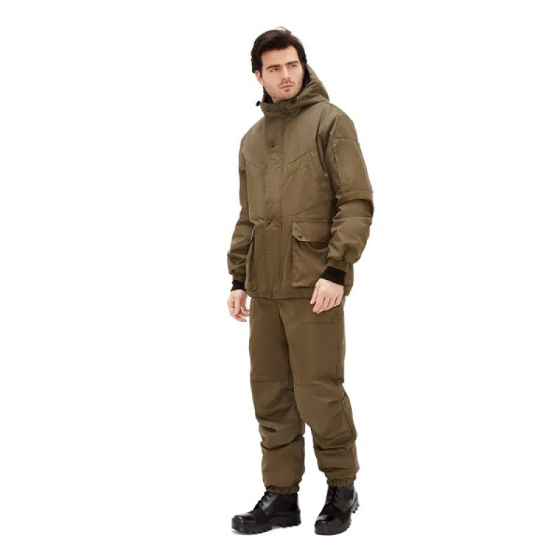 Демисезонный костюм для рыбалки KATRAN Винчестер -5 (Таслан, хаки)