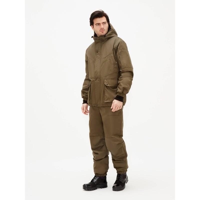 Демисезонный костюм для рыбалки KATRAN Винчестер -5 (Таслан, хаки) (фото 2)