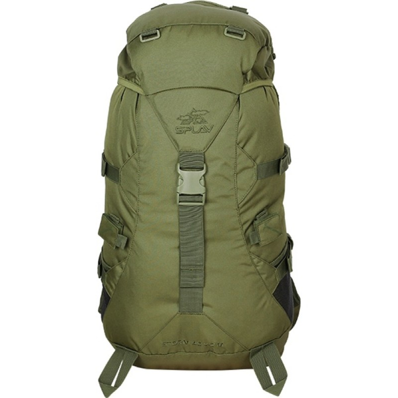 Туристический рюкзак СПЛАВ STORM 40 M (олива) (фото 2)