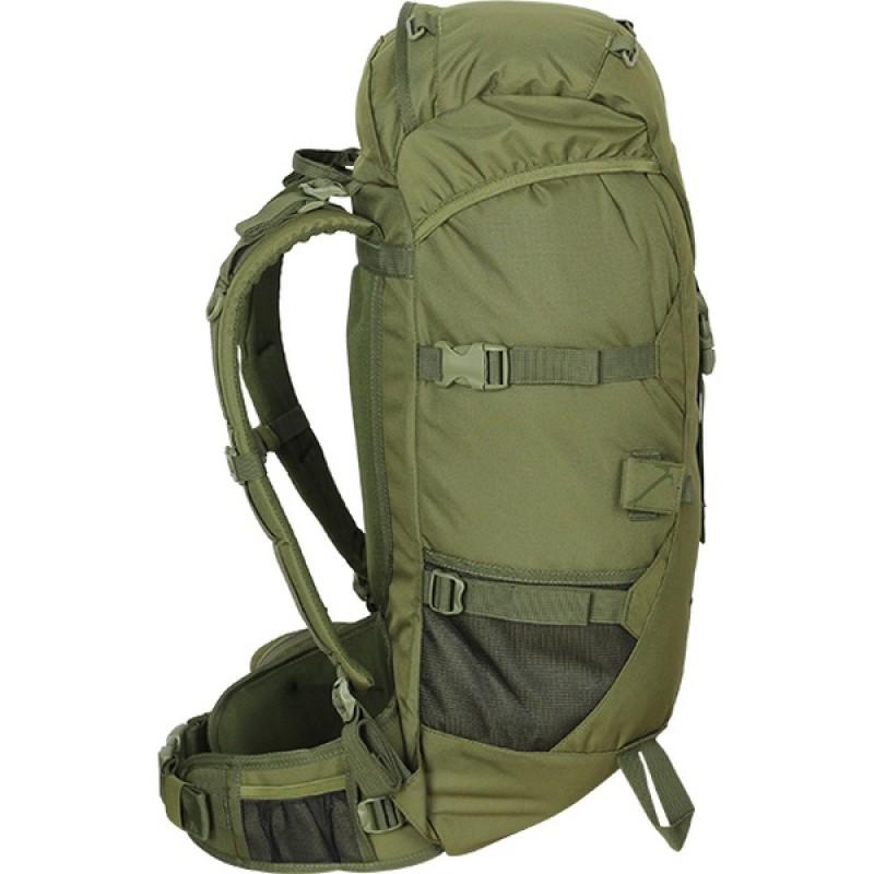 Туристический рюкзак СПЛАВ STORM 40 M (олива) (фото 3)