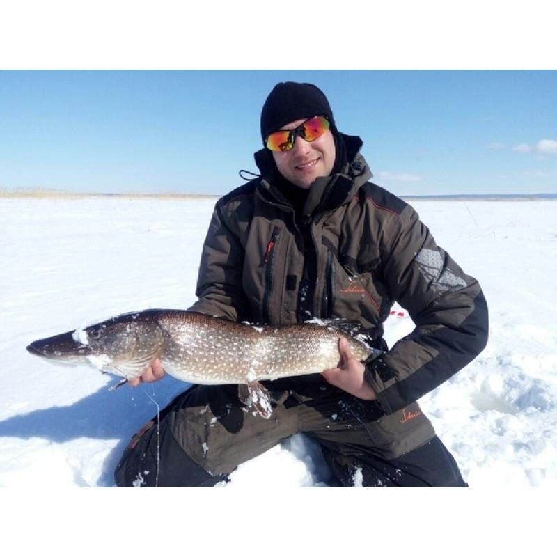Зимний костюм для рыбалки Siberia -45°С (Хаки, Breathable) Huntsman (фото 2)