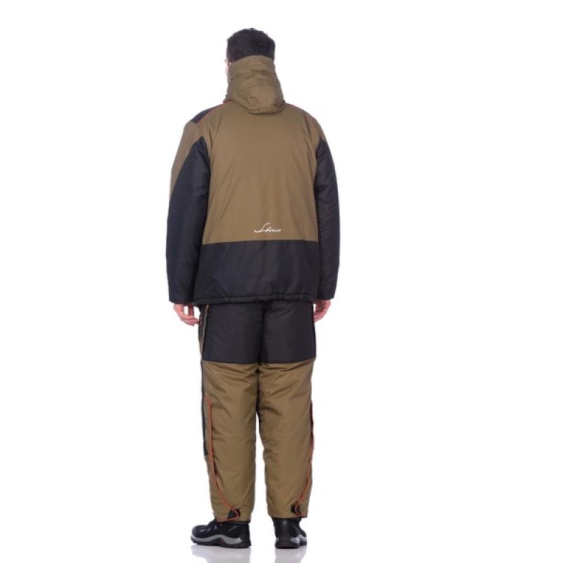 Зимний костюм для рыбалки Siberia -45°С (Хаки, Breathable) Huntsman (фото 3)