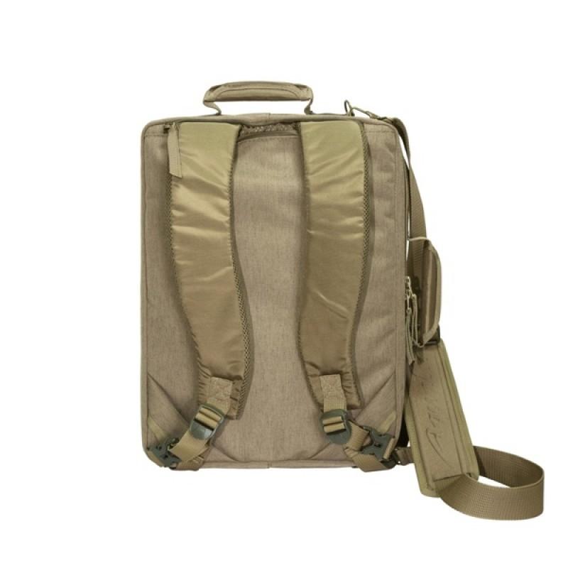 Сумка-рюкзак Aquatic С-16К (цвет: коричневый) (фото 3)