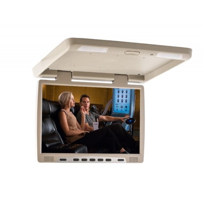 Потолочный монитор для автомобиля AVIS Electronics AVS117 Бежевый