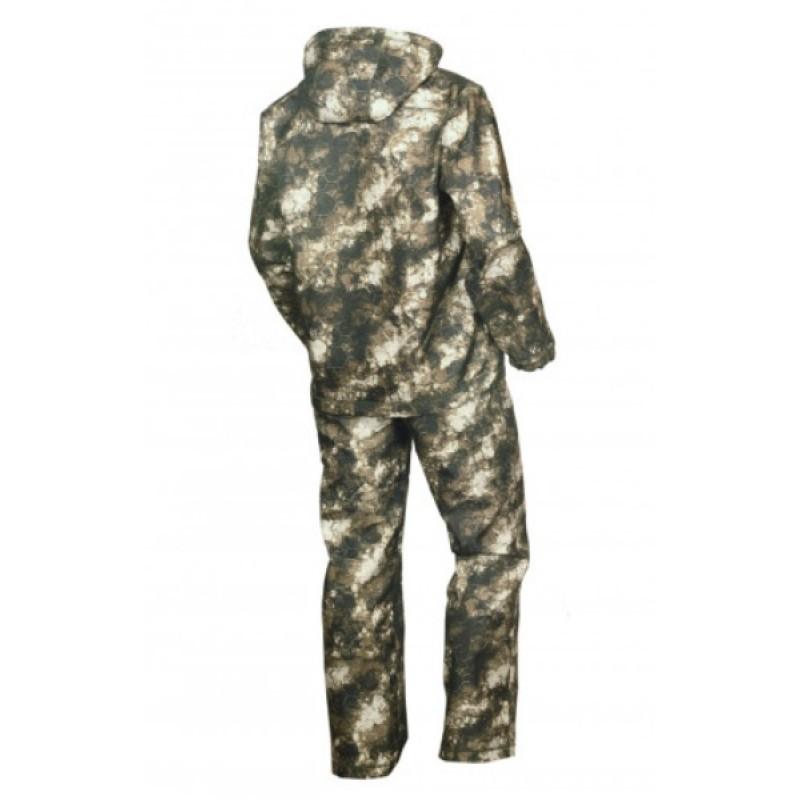 Осенний костюм для охоты и рыбалки ОКРУГ «ЗАРЯ» (камуфляж зеленый MU-1-3) (фото 2)