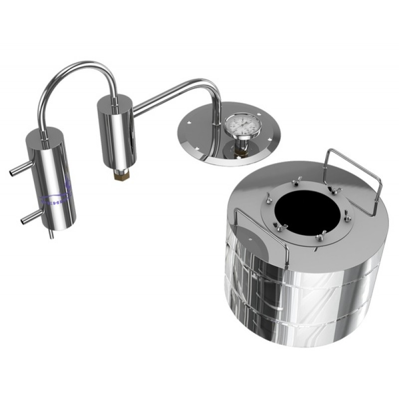Самогонный аппарат (дистиллятор) ФЕНИКС Мечта 20 литров с разборным сухопарником (фото 2)