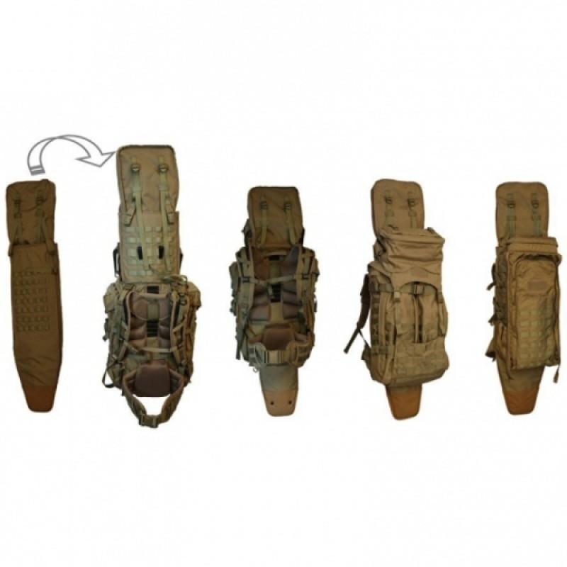 Тактический рюкзак Eberlestock Skycrane II COYOTE BROWN (фото 2)