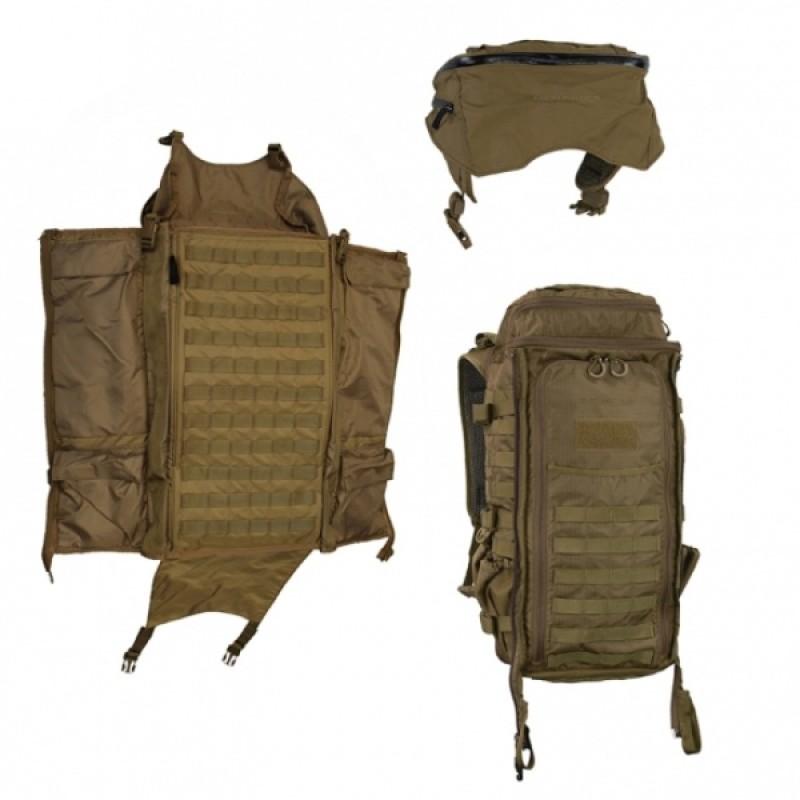 Тактический рюкзак Eberlestock Skycrane II COYOTE BROWN (фото 3)