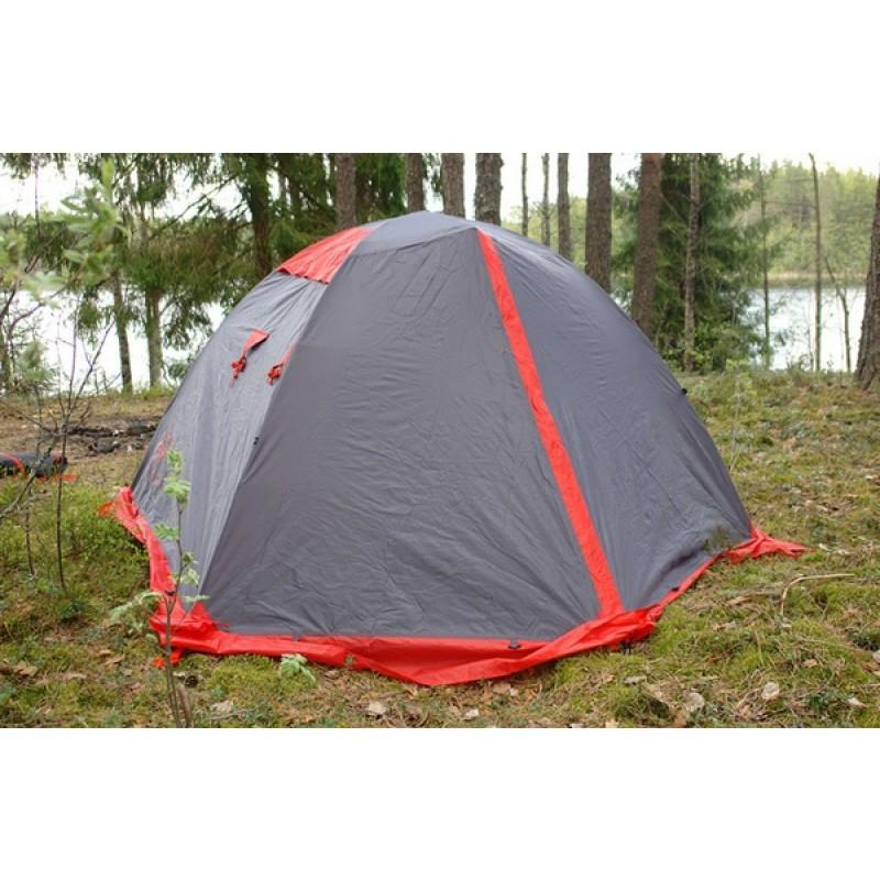 Палатка Tramp Peak 3 (V2) серый (фото 2)