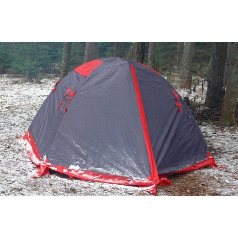 Палатка Tramp Peak 3 (V2) серый (фото 3)