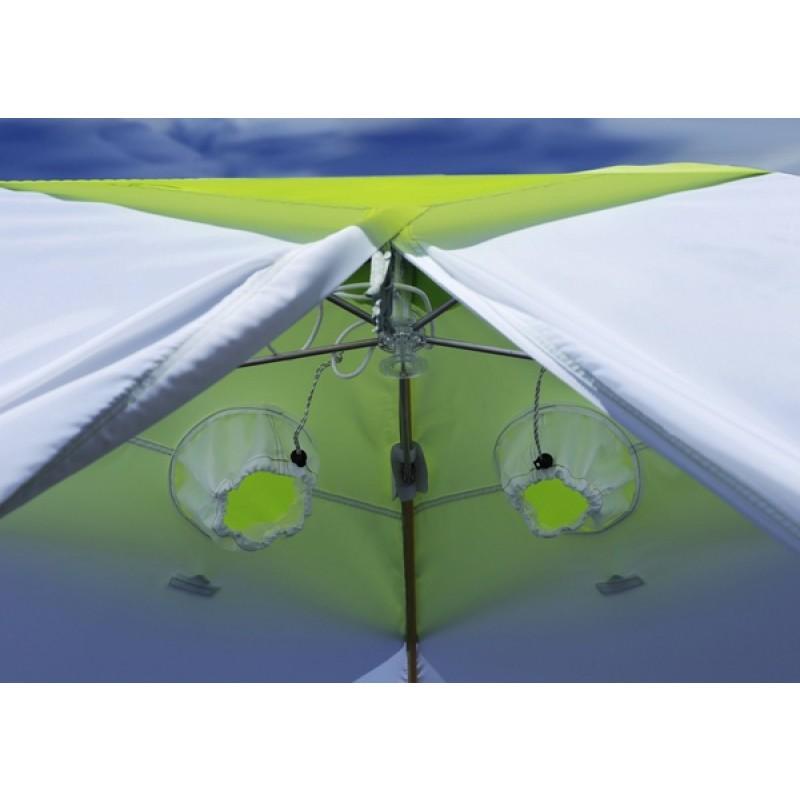 Зимняя палатка ЛОТОС 3 (оранжевый) (фото 2)