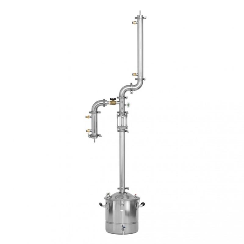 Самогонный аппарат (дистиллятор) Добрый жар АТЛАНТ 50 литров (съемный ТЭН)