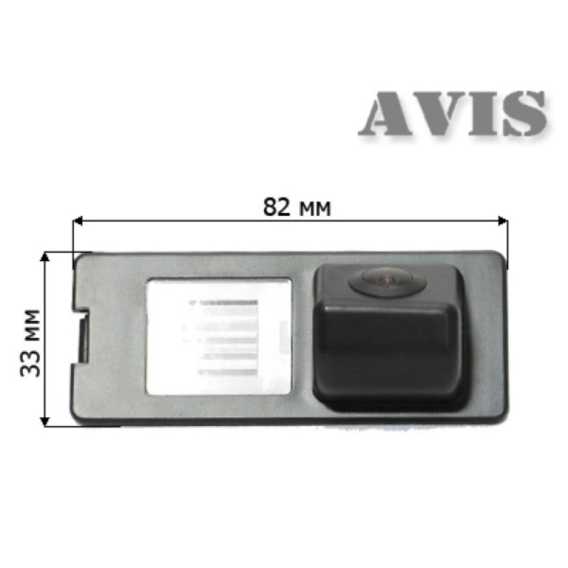 CMOS камера заднего вида для RENAULT FLUENCE / LATITUDE (#071) (фото 2)