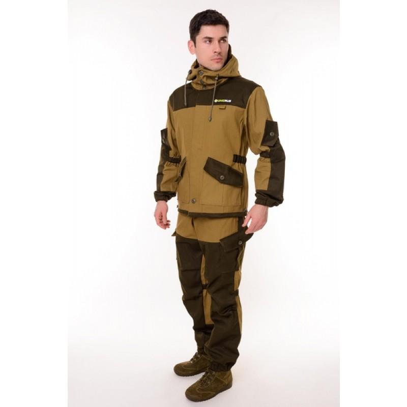 Летний костюм ONERUS Горный на пуговицах (Палатка, светлый Хаки) (фото 3)