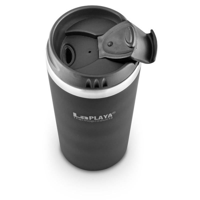 Термокружка LaPlaya Mercury Mug 0.4 L black (фото 2)