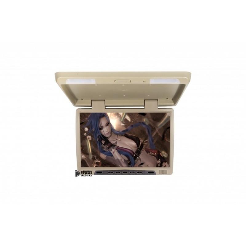 Потолочный монитор для автомобиля Потолочный монитор 22 ERGO ER22H (1680X1050) бежевый (фото 2)