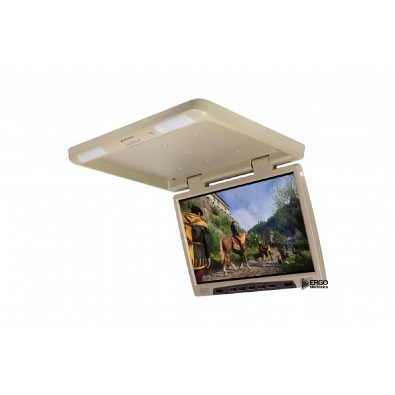 Потолочный монитор для автомобиля Потолочный монитор 22 ERGO ER22H (1680X1050) бежевый (фото 3)
