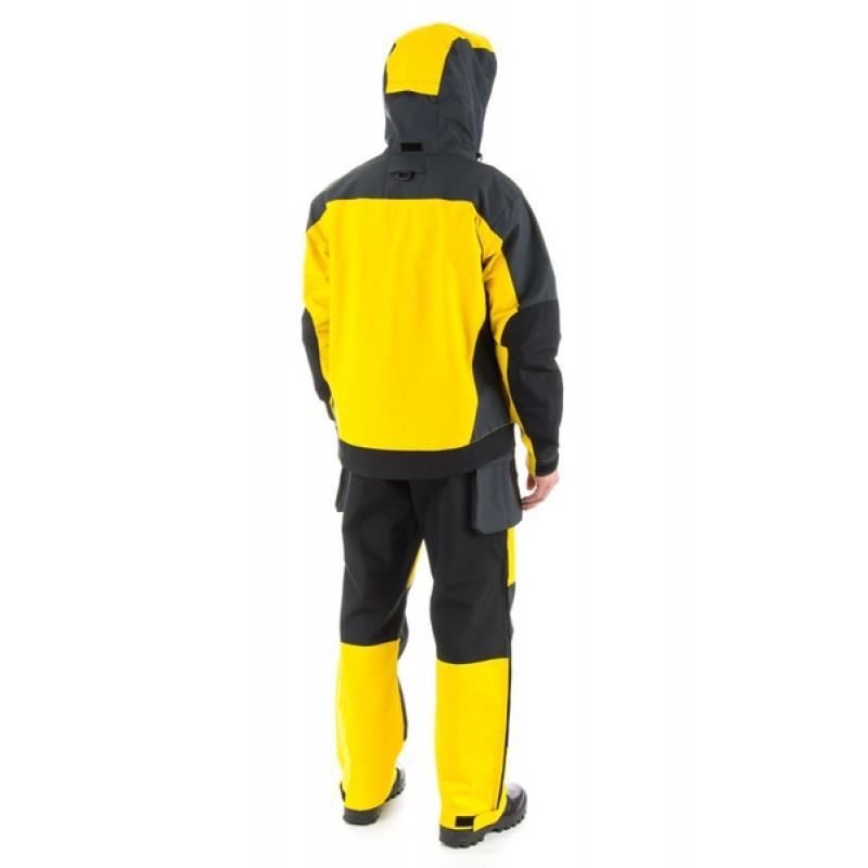 Зимний костюм для рыбалки и охоты TRITON Экстрим -40 (Таслан, желтый) (фото 2)