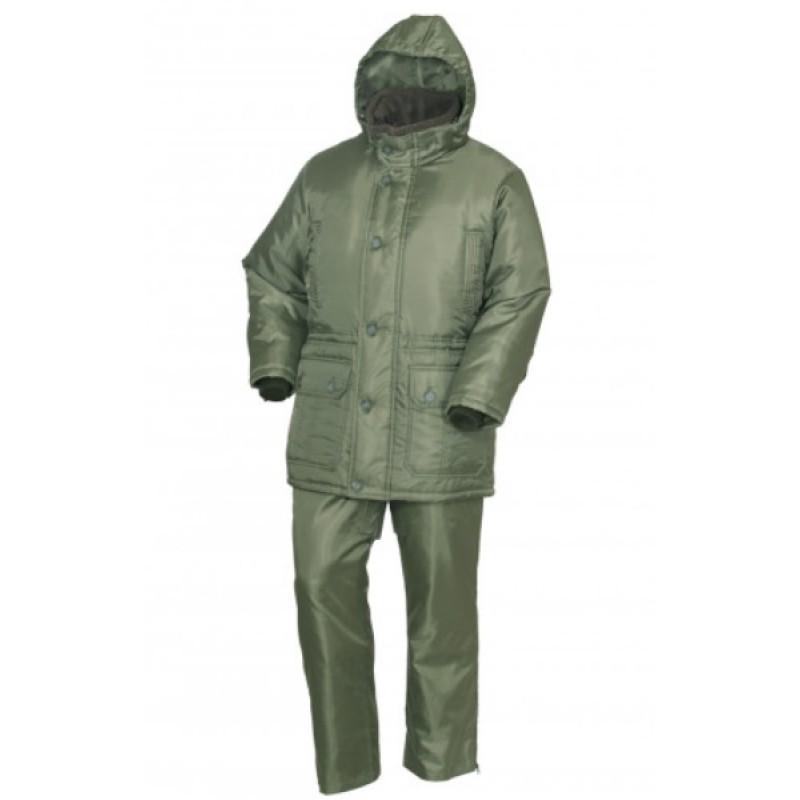 Зимний костюм для рыбалки ОКРУГ «РЫБАК» (Оксфорд, Олива )