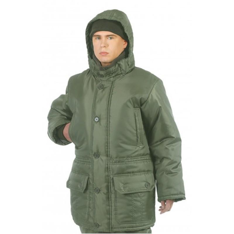 Зимний костюм для рыбалки ОКРУГ «РЫБАК» (Оксфорд, Олива ) (фото 3)