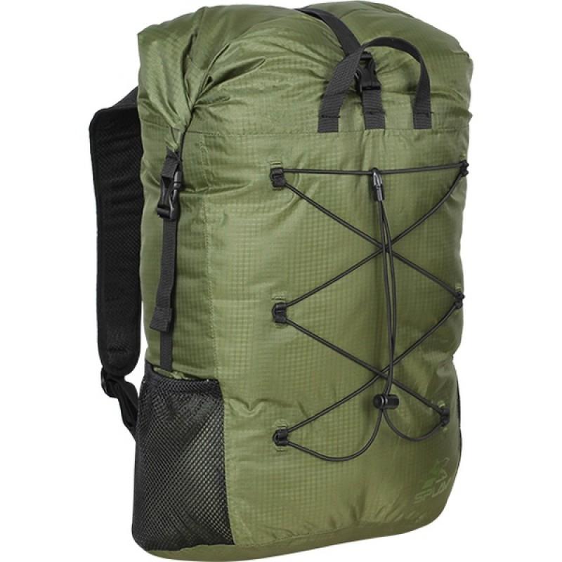 Рюкзак влагозащитный СПЛАВ TRIALON (красный) (фото 2)