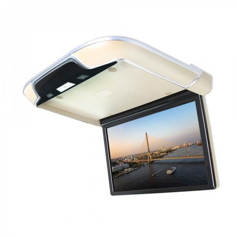 Потолочный монитор для автомобиля Потолочный СМАРТ ТВ 22 ERGO ER22AND (1920X1080, ANDROID) черный (фото 3)